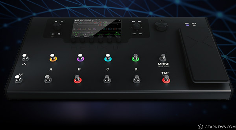 Line 6 Helix LT multi effects and amp simulation